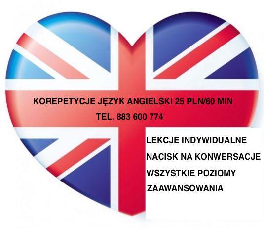 cff78f21 Korepetycje język angielski - Bielsko-Biała 20 zł/h